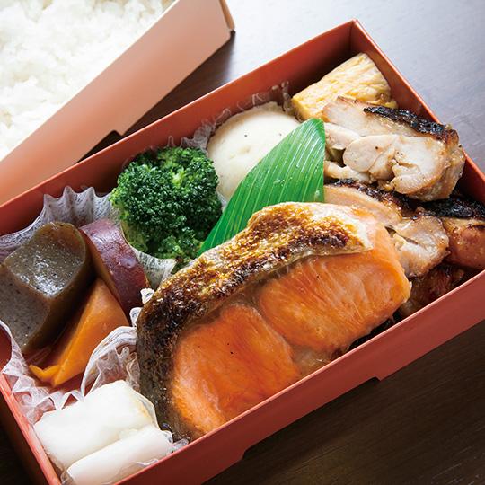 鮭とりこうじ弁当