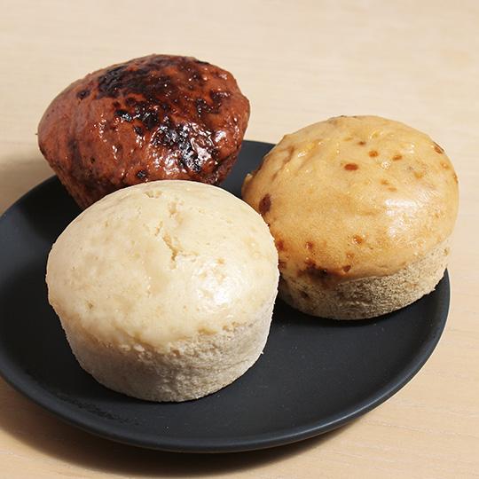 米粉蒸しパン各種